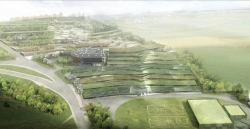 Nouveau lycée par Duncan Lewis