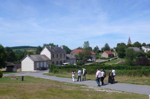 La commune de Chateau-sur-Cher, 93 habitants