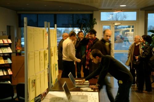 Présentation publique par petits ateliers