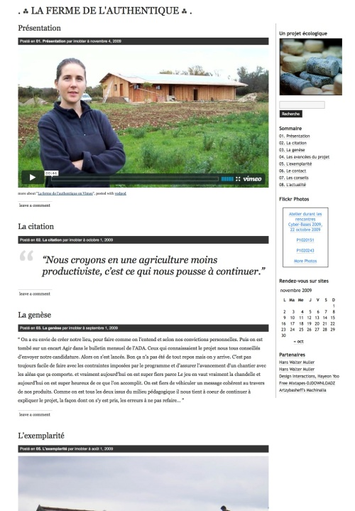 La ferme de l'authentique