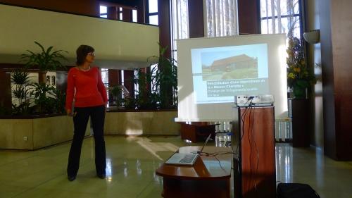 Nicole Arbez présente la maison Charlotte