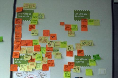 Les 4 visions des villages & les idées périphériques