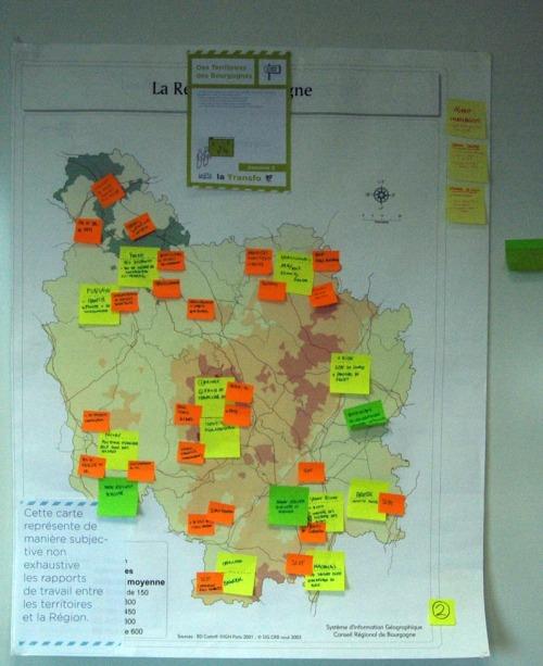 Cartographie de l'expérience professionnelle