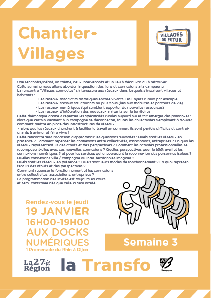 Invitation Chantier-Villages