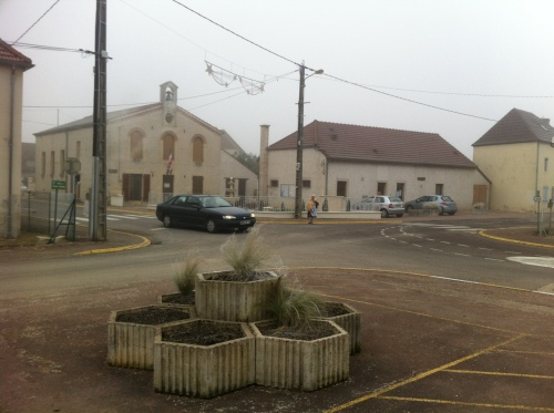 centre du village de bessey