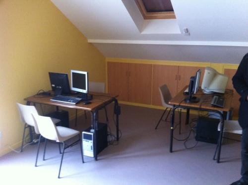 En réponse à l'engouement des habitants : une nouvelle salle informatique