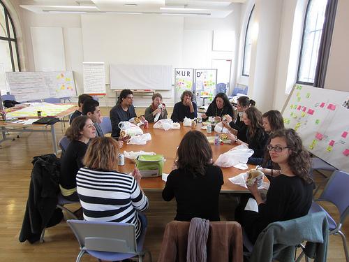 Pique-nique avec l'équipe : retour sur les enseignements méthodologiques de cette semaine de Transfo